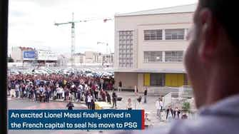 Preview image for Messi's move in motion - PSG finally get their man