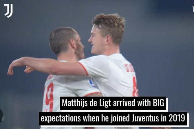 Matthijs de Ligt's Juventus progress under pressure