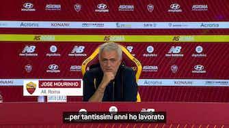 """Anteprima immagine per Mourinho: """"Il Newcastle? Un forte legame ma sono felice alla Roma"""""""
