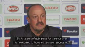 Preview image for Everton will find best solution for the club - Benitez on James' future