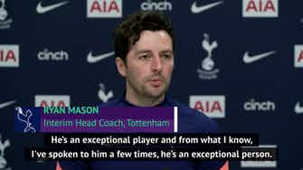 Preview image for 'Anyone would want to play with De Bruyne' - Mason dismisses Kane transfer hint