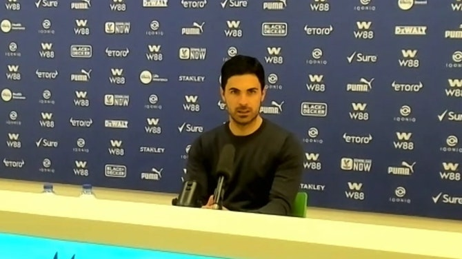 It's a joy to have Martinelli with us! Mikel Arteta