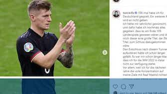 Vorschaubild für Toni Kroos beendet Karriere im DFB-Team