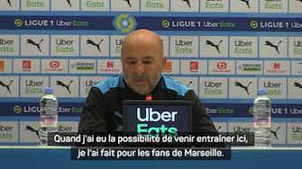 """Image d'aperçu pour Classique -  Sampaoli : """"Je suis venu pour les fans qui sont les meilleurs de France"""""""