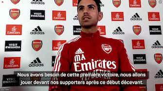 """Image d'aperçu pour 4e j. - Arteta : """"Arsenal doit gagner"""""""