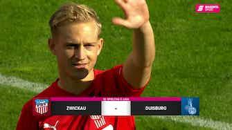 Vorschaubild für FSV Zwickau - MSV Duisburg (Highlights)
