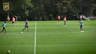 Image d'aperçu pour Le FC Nantes prépare le match d'Angers
