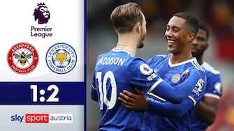 Vorschaubild für Mega Tor von Tielemans   Brentford - Leicester City 1:2
