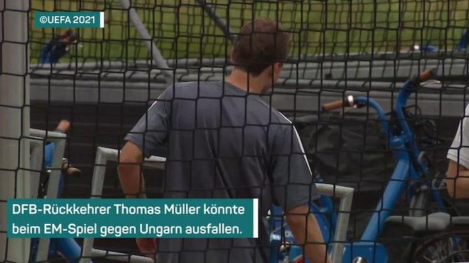Vorschaubild für Schock! Müller könnte gegen Ungarn ausfallen