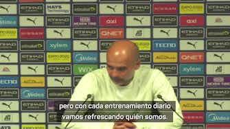 """Imagen de vista previa para Guardiola: """"El resultado es consecuencia de todo lo que hicimos bien"""""""