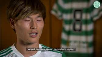 Preview image for Kyogo Furuhashi looks to make instant impact after Celtic debut