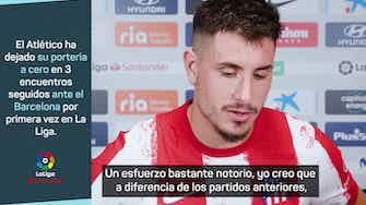 """Imagen de vista previa para Jose María Giménez: """"Hemos corrido correctamente"""""""