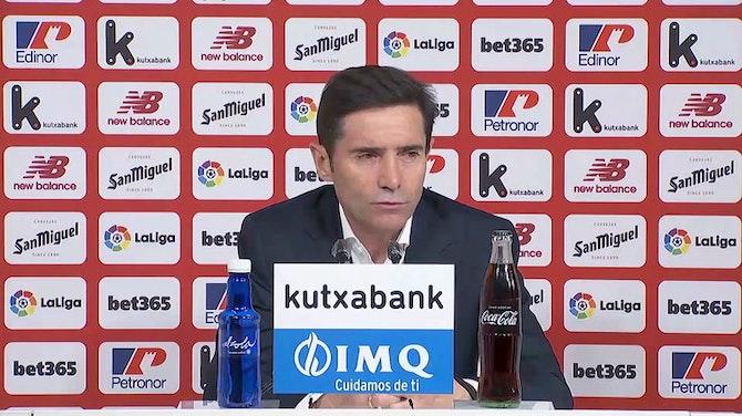 """Marcelino, en titulares: """"Con Raúl hubo un malentendido"""""""