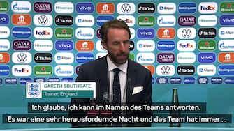 """Vorschaubild für Southgate: """"Das neue Wembley noch nie so erlebt"""""""