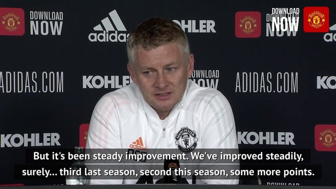 Solskjaer insists there's room for improvement at Manchester United