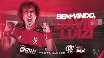 Preview image for Flamengo announce the signing of David Luiz