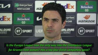 Preview image for Arteta not ruling out top four finish
