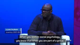 Preview image for Thuram pleads to 'think like a human being' in fight against racism