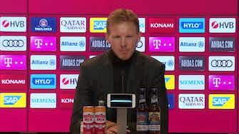 Vorschaubild für Sprüche-Feuerwerk: Nagelsmann bei FCB-PK in Bestform