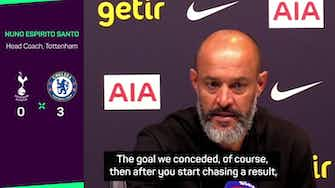 Preview image for 'Chelsea's opener from the corner was the turning point' - Nuno Espirito Santo
