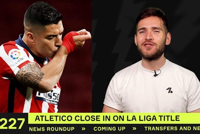 Atlético close in on La Liga title!