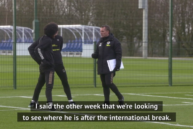 Rodgers teases Maddison return after international break