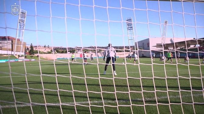 L'Espagne prépare le match de la Croatie