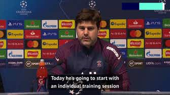 Preview image for Pochettino to make late decision on injured Mbappe for trip to Man City