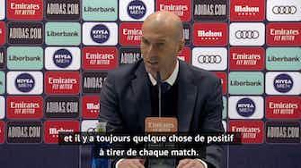 """Image d'aperçu pour 27e j. - Zidane : """"Le plus important est de rester dans la bataille pour le titre"""""""