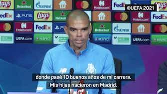 """Imagen de vista previa para  Pepe: """"Siempre es especial jugar contra un equipo español"""""""