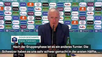 """Vorschaubild für Deschamps zu EM-Aus: """"Bereuen es natürlich"""""""