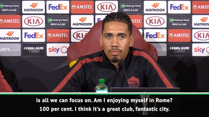 Preview image for Smalling focused on Roma despite rumours