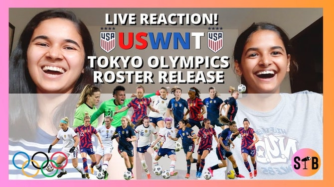 Preview image for REACTING to the USWNT Olympics ROSTER DROP⚽️  [with my sister]
