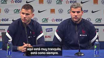 """Imagen de vista previa para Lucas Hernández: """"Mbappé es sincero en su entrevista"""""""