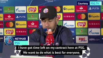 Preview image for PSG are now getting the respect they deserve - Neymar
