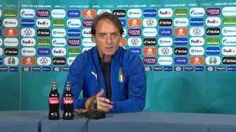 """Anteprima immagine per Mancini: """"Giocheremo per vincere. Il biscotto? Non ci riguarda"""""""