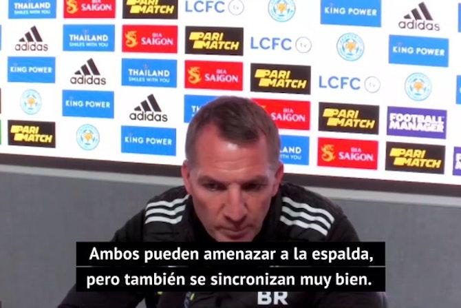 """Rodgers bromea sobre la buena racha de Iheanacho: """"Mi única preocupación es que se quede sin celebraciones"""""""