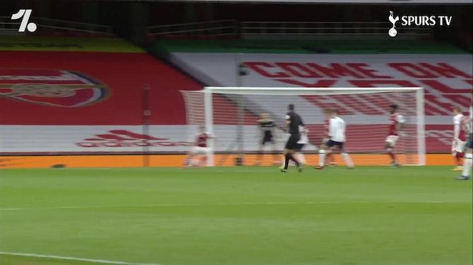 Golaço de letra de Lamela pelo Tottenham contra o Arsenal