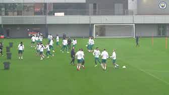 Image d'aperçu pour Le dernier entrainement de Man City avant Bruges