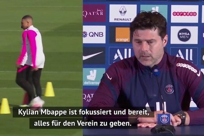 """Pochettino: """"Vertragsgespräche lassen Mbappe kalt"""""""