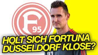 Vorschaubild für Miroslav Klose als neue Trainer bei Fortuna Düsseldorf?