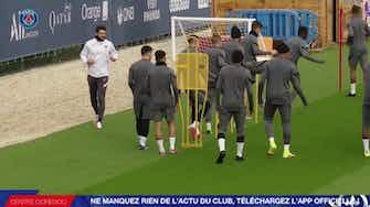 Imagem de visualização para Paris Saint-Germain treina para encarar o RB Leipzig na Champions