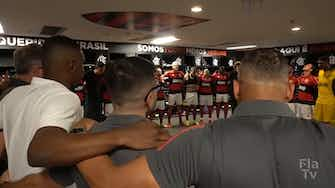 Preview image for Behind the scenes of Flamengo's victory over Athletico-PR