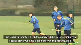 Preview image for Ozil quality will be missed - Arteta