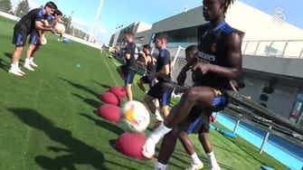 Preview image for Eduardo Camavinga prepares for the Mallorca game