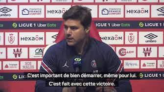 """Image d'aperçu pour 3e j. - Pochettino : """"La présence de Messi amène de l'optimisme"""""""