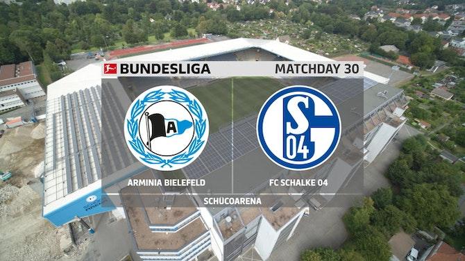 Veja o golaço do Arminia que rebaixou Schalke 04 da Bundesliga