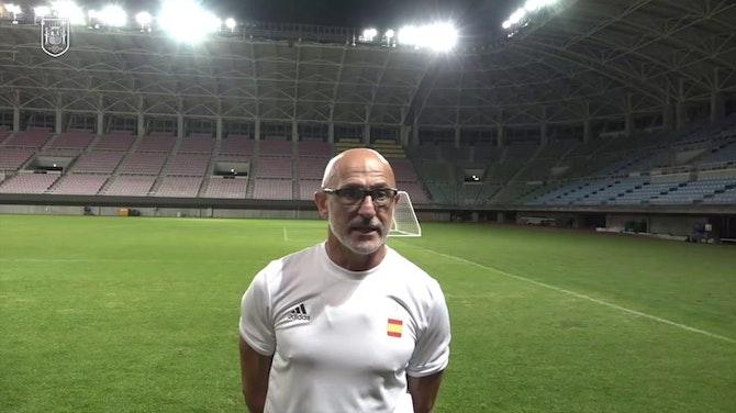 """Imagen de vista previa para De la Fuente: """"Estoy seguro que los goles van a llegar"""""""