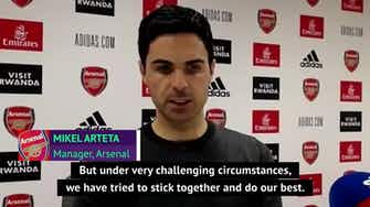 Preview image for Arteta ends season feeling sad as Arsenal end 25 years in Europe