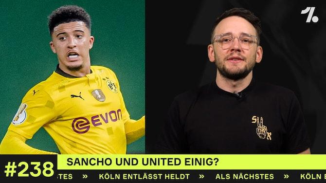Vorschaubild für Sancho und United einig?